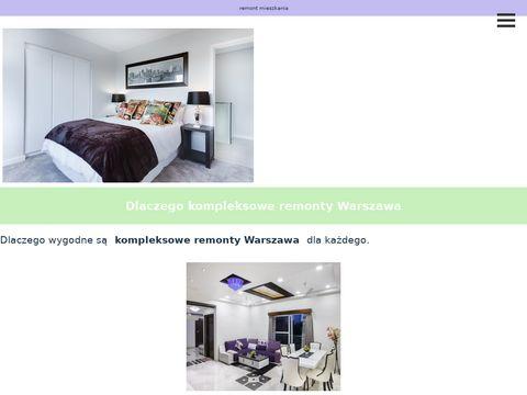 Remont-mieszkania.com.pl w Warszawie