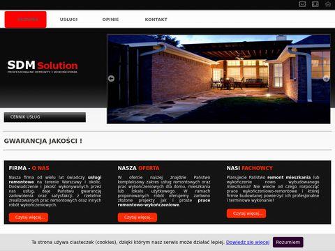 Remonty i wykończenia miekszań Warszawa