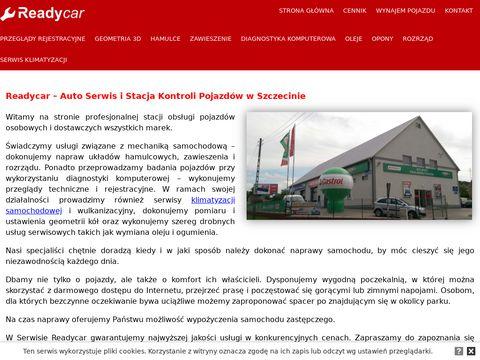 Ready Car stacja diagnostyczna Szczecin