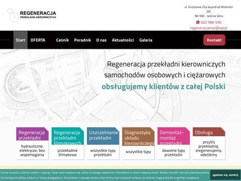Regeneracjaczesci.com przekładni kierowniczych