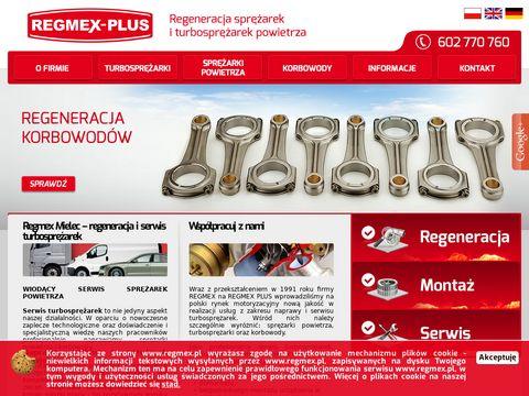 Regmex-Plus naprawa sprężarek marelli mielec