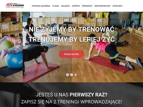 Rhfitness.pl studio treningu personalnego