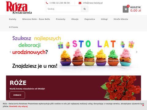 Kwiaciarnia Róża maskotki