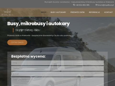 Royalbus.pl Kraków wynajem