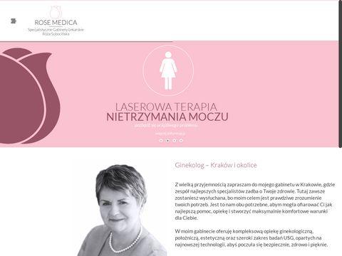 Rosemedica.pl USG Kraków ginekolog