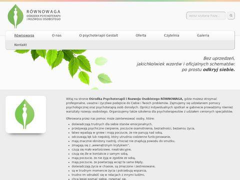 Rowno-waga.pl - psychoterapeuta Wrocław