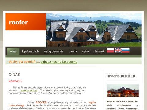 Roofer - łupki dachowe
