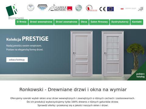 Ronkowski.pl - okna i drzwi drewniane