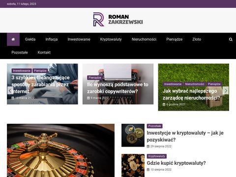Romanzakrzewski.pl obrazy olejne, portrety