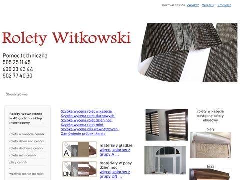 Rolety Witkowski