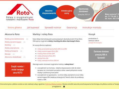 Rolety-roto.pl - sklep internetowy