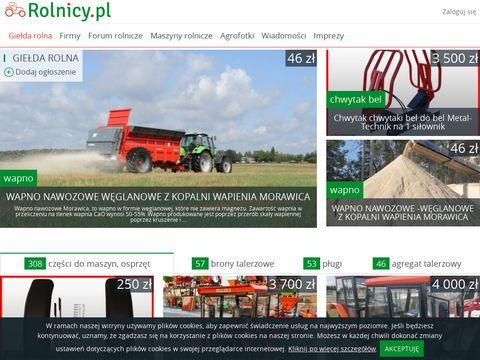 Rolnicy.pl - ogłoszenia rolnicze
