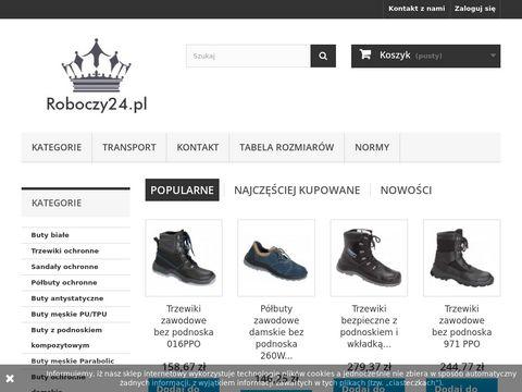 Roboczy24.pl profesjonalne obuwie ochronne