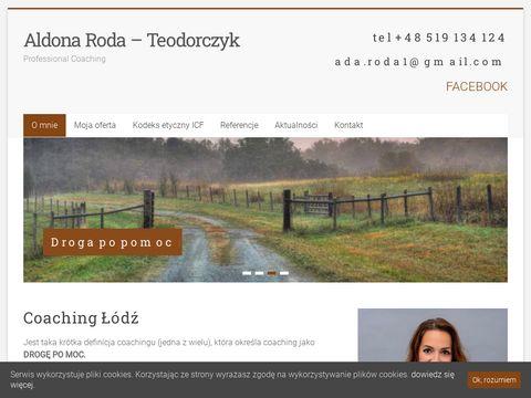 Rodaaldona.com sesje coachingowe Łódź
