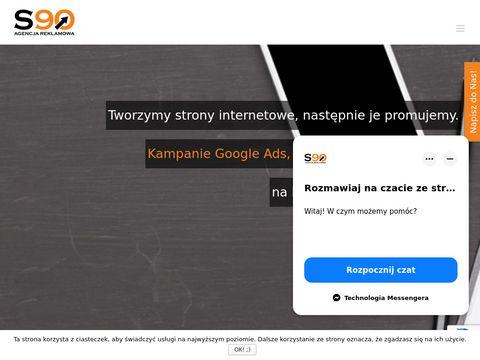 S90.pl agencja reklamowa - pozycjonowanie stron
