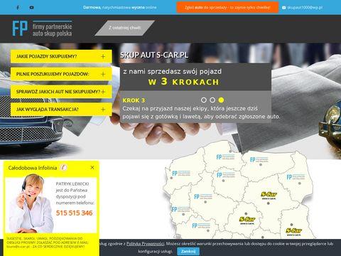 S-car.pl skup samochodów cała Polska