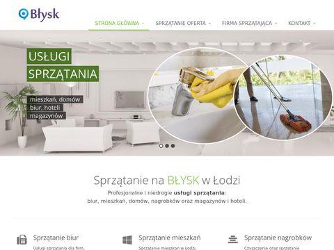 Sprzatanie-blysk.pl sprzątanie Łódź