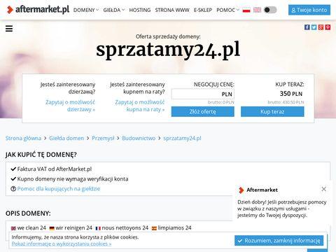 Sprzatanie24.pl - sprzątanie Warszawa