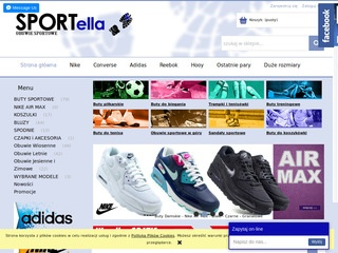 Tanio buty.pl sklep sportowy Nike, Adidas Katalog stron