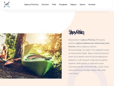 Splywy-debki.pl kajakiem Piaśnica, Pomorze