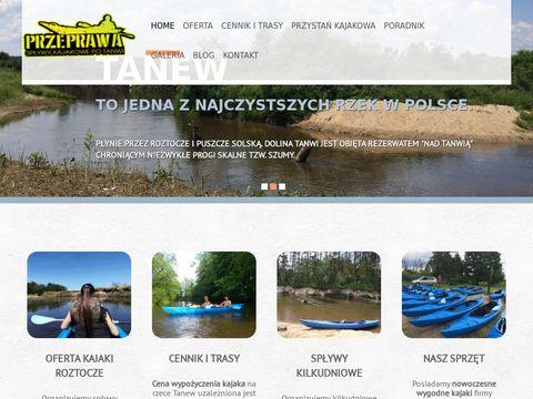 Splywytanew.pl - kajaki Roztocze