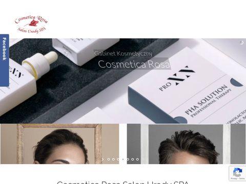 Cosmetica Rosa zamykanie naczynek Szczecin