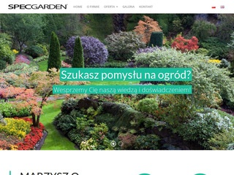 SpecGarden projekty ogrodów