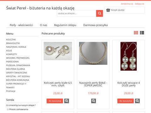 Swiat-perel.pl - internetowy sklep z biżuterią