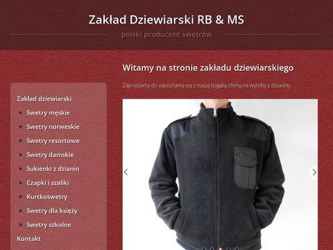 Swetry.biz producent swetrów damskich