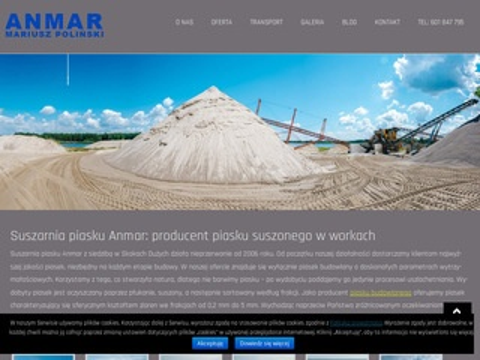 Anmar piasek dostawca kujawsko-pomorskie
