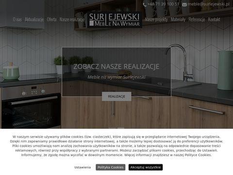 Surlejewski meble ze szkła Wrocław