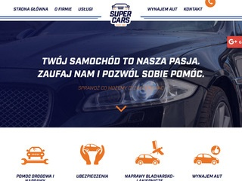Super Cars holowanie Bydgoszcz