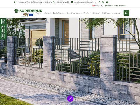 ABW Superbruk kostka Białystok