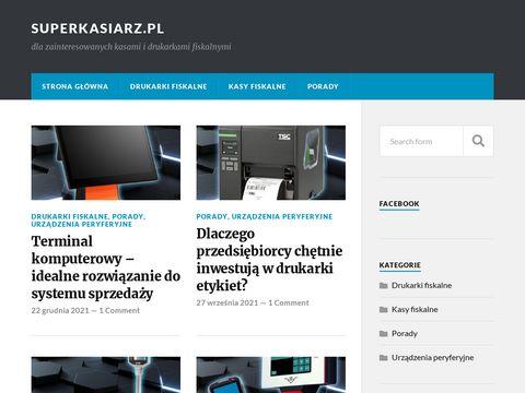 Superkasiarz.pl - informacje o kasach fiskalnych