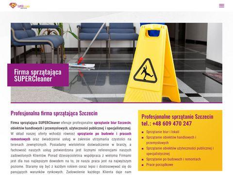 Sprzątanie Szczecin super-cleaner.pl