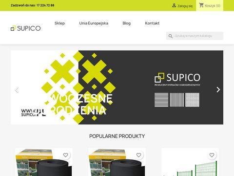 Supico.pl producent systemów ogrodzeniowych
