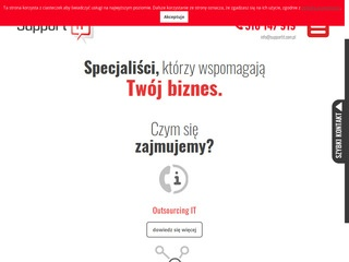 Supportit.com.pl outsourcing IT Poznań