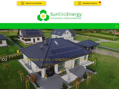 Sunekoenergy.pl mikro i małe elektrownie słoneczne