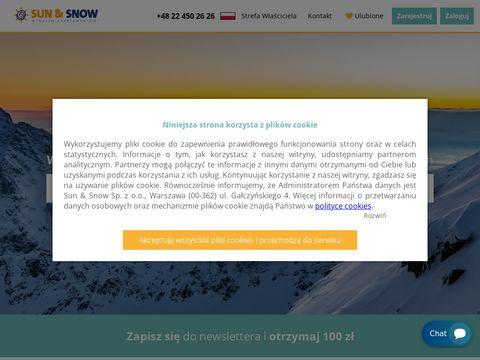 Sunandsnow.pl apartamenty Międzyzdroje