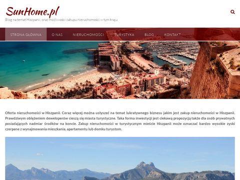 SunHome.pl apartamenty Alicante