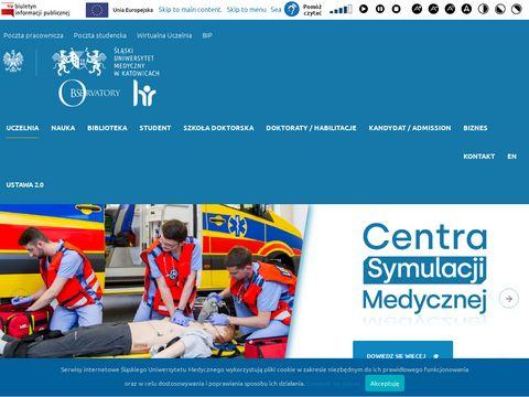 Sum.edu.pl ratownictwo medyczne studia Katowice