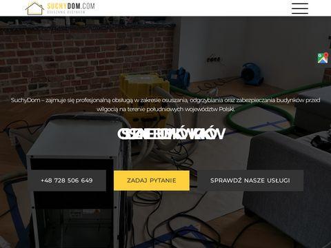 Suchydom.com - osuszanie budynków