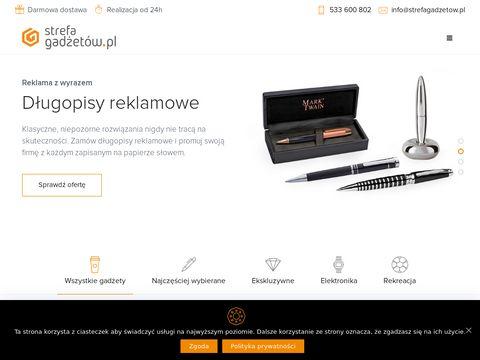 Strefagadzetow.pl - długopisy reklamowe