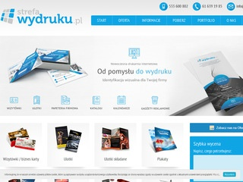 Strefawydruku.pl - teczki reklamowe