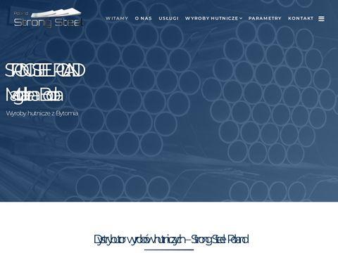 Strongsteelpoland.pl wyroby hutnicze Bytom