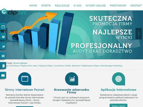 Clip-Art strony internetowe Poznań