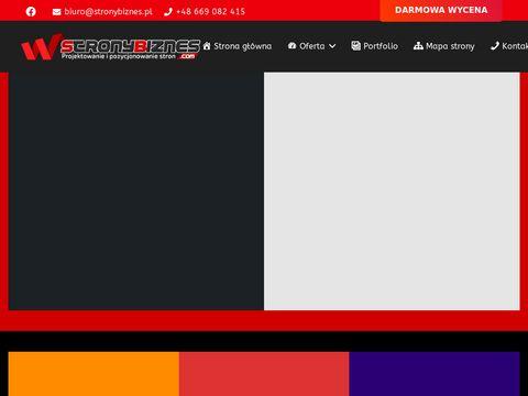 Strony internetowe Piła stronybiznes.com