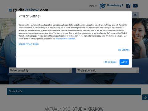 Studiakrakow.com szkoły wyższe