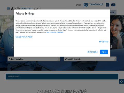 Studiapoznan.com informatyka uczelnie
