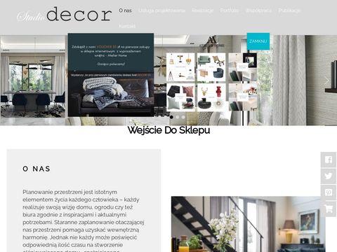 Studiodecor.sklep.pl dekorator wnętrz